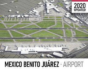 Mexico City International Airport - 3D asset