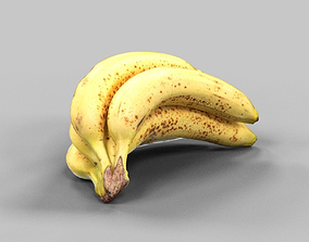 Banana Tros 3D asset