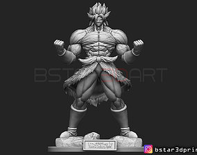Broly version 01 - from Broly movie 3D printable model 1