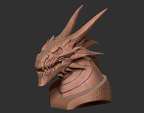 3D printable model Dragon Bust statue