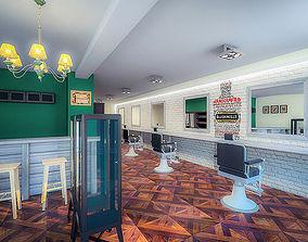 3D asset Barbershop Beauty Salon