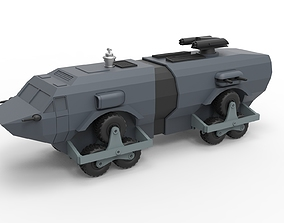 Diecast model Landmaster from Damnation Alley Scale 1 1