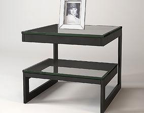 Eichholtz Side Table Gamma 3D model lighting