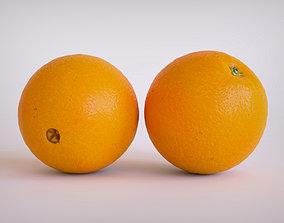 Orange fruit 3D model VR / AR ready