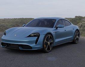 3D Porsche Taycan Turbo S premium