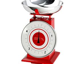 3D Capacity Kitchen Scale
