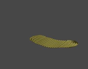 3D model Potato chip
