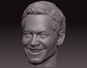Paul Walker 3D printable model