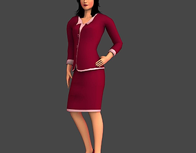 3D model Air Hostess