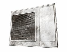 Air conditioner outdoor 2b 3D model