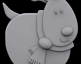 Reindeer ornament 3D printable model