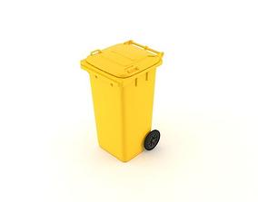 Dumpster 120 litres 3D model