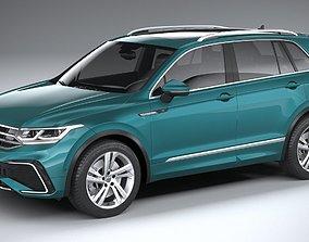 3D model Volkswagen Tiguan R-Line 2021