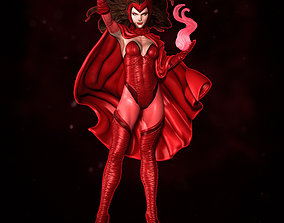 3D printable model Scarlet Witch Statue