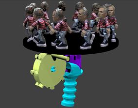 3D print model 4Dm8or Complete