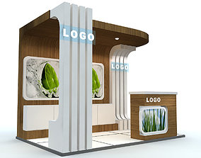 Exhibition Stand - ST0014 3D model