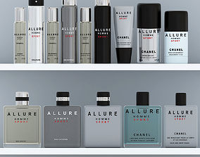Allure homme sport set 3D