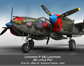 Lockheed P-38 Lightning - My little Pig 3D
