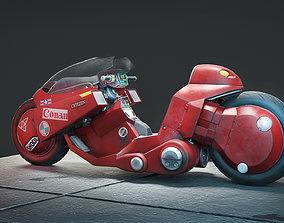 Akira Motorcycle 3D model