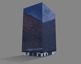 211 Main Street Building San Francisco Low-poly low-poly 1