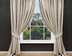 3D model Elegant curtain