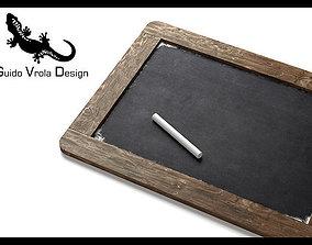 Small blackboard 3D