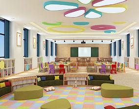Kindergarten Classroom 02 classroom 3D