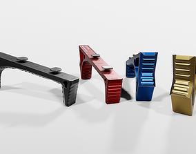 Strike Industries LINK Curved ForeGrip 3D model