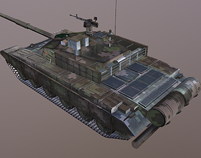 3D model Chinese PLA Army Type 99 Main battle tank MBT99