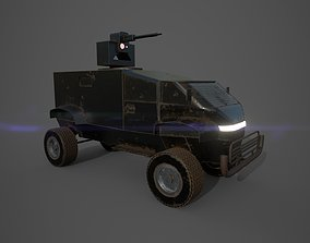 3D Special force vehicle