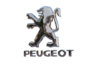 3D asset Peugeot Car Badge