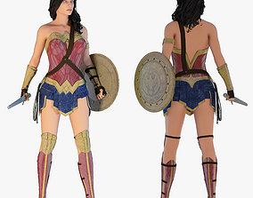 3D model wonder Wonder Woman