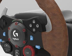 3D LOGITECH G29 Steering Wheel