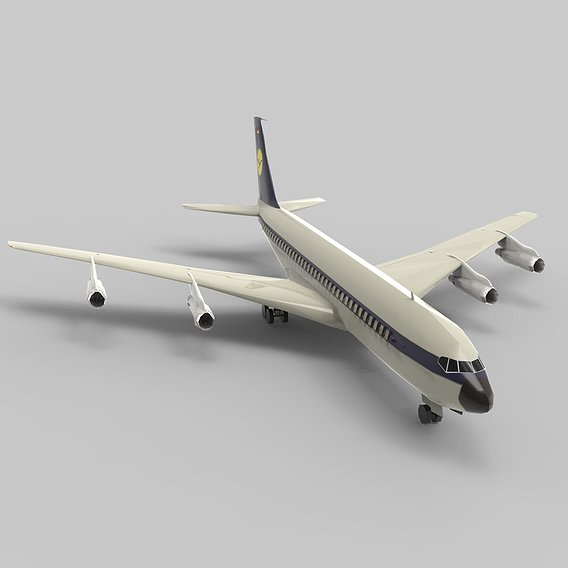 Boeing 707 Cargo Plane