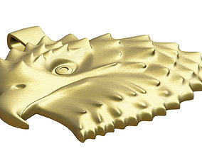 3D print model Eagle Pendant shining