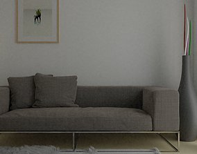 Basic Living Room 3D