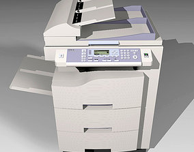 Copy Machine - BTEC CP70 - Color Photocopier 3D model