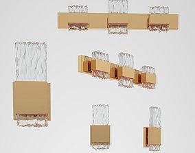 Kuzco lighting Oslo bra VL9524 WS9512 3D model