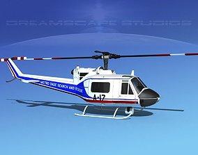 Bell 204 Dade County SAR 3D model