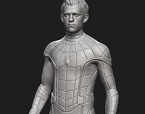 character Tom Holland Spider-Man 3D print model