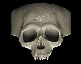 3D printable model Vampire Skull Ring