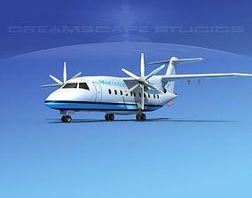 Dornier Do-328-130 Miami Express 3D model