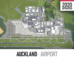 3D asset Auckland Airport