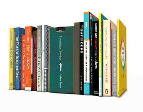 Books 3D model books