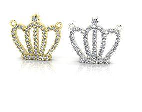 king Crown Pendant 3D print model