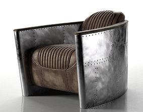 3D Aviator Chair warp
