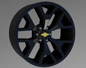 3D printable model RW wheel GMC Sierra
