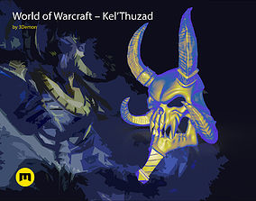 WoW Kel Thuzad Mask 3D printable model