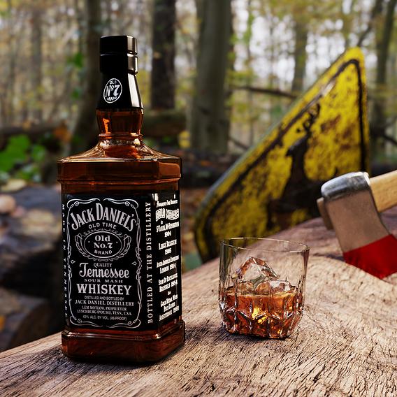Jack Daniel´s Bottle
