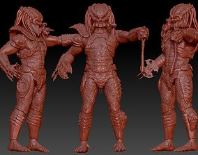 cityhunter 3D print model predator 2 inspired city hunter